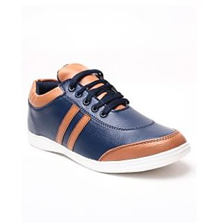 Juan David Mens Blue Casuals Lace-up Shoes - 92629708
