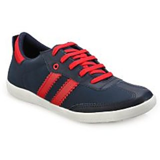 Juan David Mens Blue Casuals Lace-up Shoes - 92629883