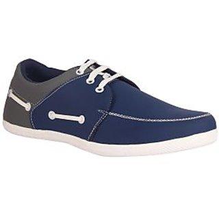 Juan David Mens Blue Casuals Lace-up Shoes - 92629831
