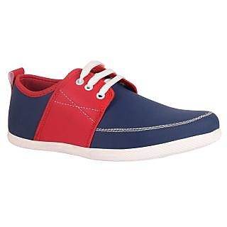 Juan David Mens Blue Casuals Lace-up Shoes - 92629934