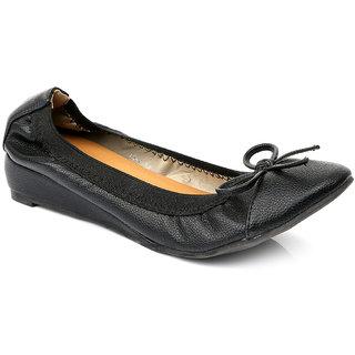 Solovoga WomenS Black Round Toe Heel Sandals - 92631630