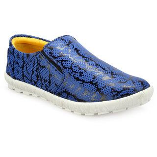 Juan David Mens Blue Casuals Slip On Shoes - 92636105