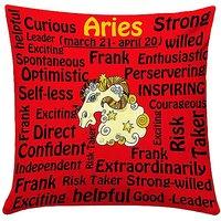 Aries Red Cushion