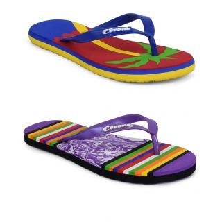 Corona Womens Multicolor Slipper Combo - 92850095