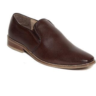 Ziera Men Milano Brown Formal Shoes (ZF1050)
