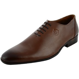 Royals Rugged Mens Oxford Leather Formal Shoes - 92882979