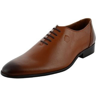 Royals Rugged Mens Oxford Leather Formal Shoes
