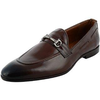 Royals Rugged Mens Genuine Leather Slip On Shoe - 92883637