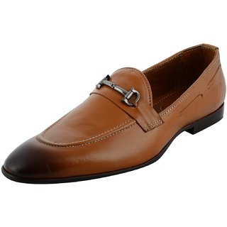 Royals Rugged Mens Genuine Leather Slip On Shoes