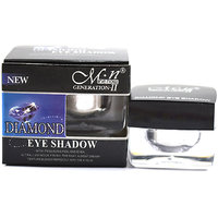 MN DIAMOND EYE SHADOW  WITH FREE LIPSTICK  RUBBER BAND - 93025688