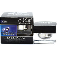 MN DIAMOND EYE SHADOW  WITH FREE LIPSTICK  RUBBER BAND - 93028336