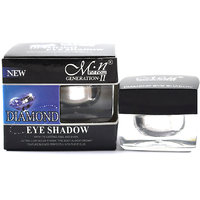 MN DIAMOND EYE SHADOW  WITH FREE LIPSTICK  RUBBER BAND - 93028115