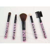 Profusion 5 PCS COSMETIC BRUSH SET KIT - Eyebrow  Eye Shadow Brush Set