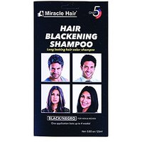 Hair Blackening Shampoo Premium (12-Pack) By Miracle Hair