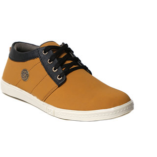 Craze Shop MenS Beige Casual Shoes
