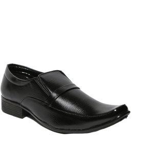 Craze Shop MenS Black Formal Shoes - 93074553