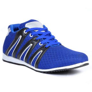 Footlodge Mens Blue Casuals Lace-Up Shoes - 93203518
