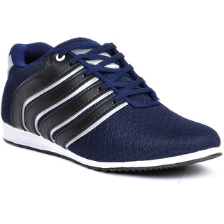Footlodge Mens Blue Casuals Lace-Up Shoes - 93203524