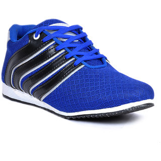 Footlodge Mens Blue Casuals Lace-Up Shoes - 93203539