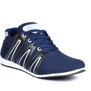 Footlodge Mens Blue Casuals Lace-Up Shoes - 93203547