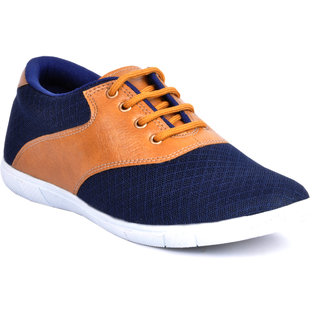 Footlodge Mens Blue Casuals Lace-Up Shoes - 93203558