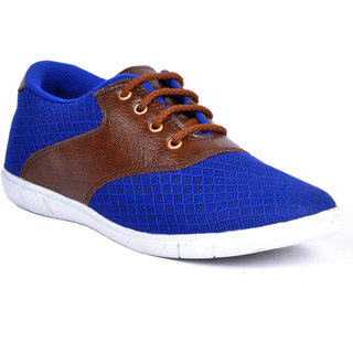 Footlodge Mens Blue Casuals Lace-Up Shoes - 93203588