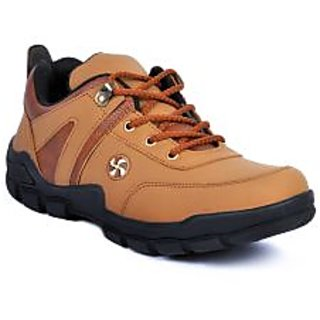 Footlodge Mens Tan Casuals Lace-Up Shoes - 93206123