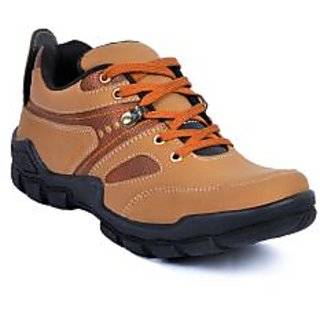 Footlodge Mens Tan Casuals Lace-Up Shoes - 93206148