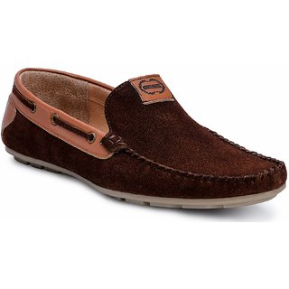 Escaro MenS Parma MenS Brown Casual Loafers