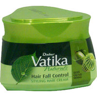 DABUR VATIKA HAIR FALL CONTROL NATURALS STYLING HAIR CREAM 140g