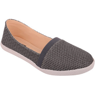 Exotique Womens Grey Sneaker Shoe(EL0036GY)
