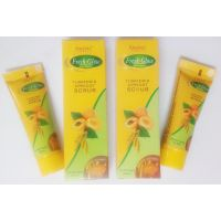 100 Gm 1 + 1 Pack Turmeric Apricot Scrub For Both Men And Women At Wholesale Prices