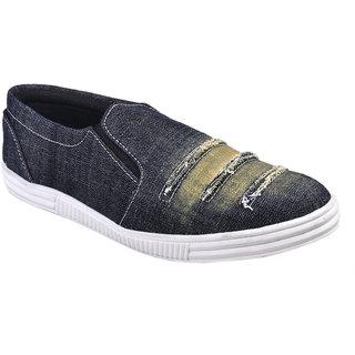 Cool River MenS Black Lace-Up Shoes - 93405064
