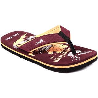 Foot Clone MenS Trendy Black Flip Flops - 93416775