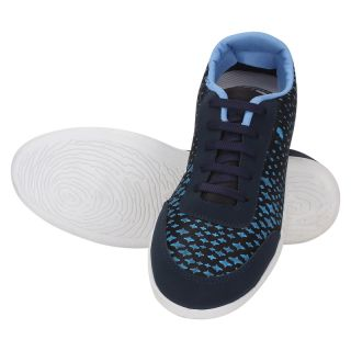 KaceyS Sneakers With Navy Blue With White Sole Shoes For Unisex Sizing - 6