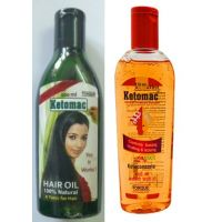 Torque Ketomac Hair Oil 100 Ml  Ketomac Shampoo 110 Ml 100 Natural Anti Dandruf Treatment
