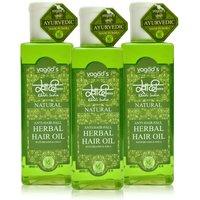 Khadi Anti-Hairfall Herbal Hair Oil Pack Of 3 200ml