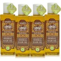 Khadi Maha Bhringraj Herbal Hair OiL Pack Of 4 100 Ml