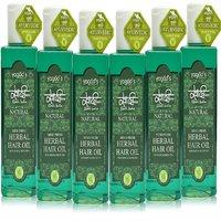 Khadi Mind-Fresh Herbal Hair Oil  Pack Of 6  200 Ml