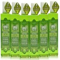 Khadi Anti-Hairfall Herbal Hair Oil Pack Of 6 200ml