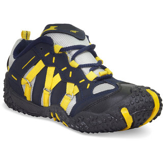 SONAM INDUSTRIS Mens Black And Yellow Spider Casual Shoes