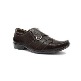 Lavista Mens Black Synthetic Leather Sandals - 93883254