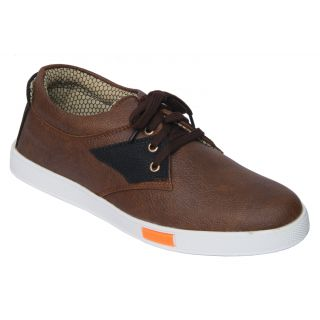 Trendigo MenS Beige Lace-Up Casual Shoes - 93761818