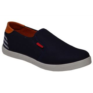 Trendigo MenS Black Slip-On Casual Shoes - 93761769