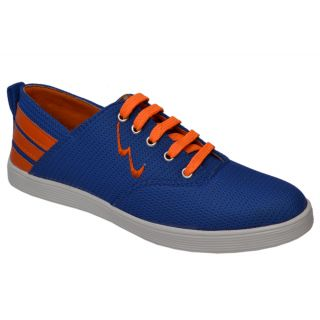 Trendigo MenS Blue Lace-Up Casual Shoes - 93761782