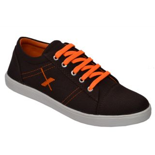 Trendigo MenS Brown Lace-Up Casual Shoes - 93761797