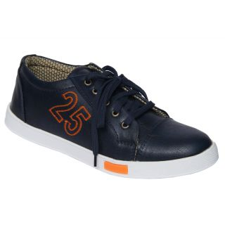 Trendigo MenS Black Lace-Up Casual Shoes - 93761827