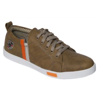 Trendigo MenS Beige Lace-Up Casual Shoes - 93761876