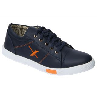 Trendigo MenS Black Lace-Up Casual Shoes - 93761880