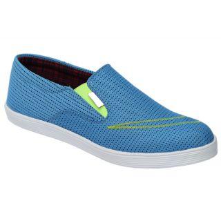 Trendigo MenS Blue Slip-On Casual Shoes - 93761886